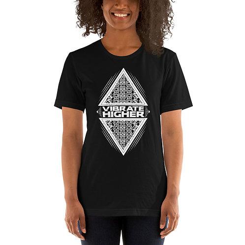 Vibrate Higher Short-Sleeve Unisex T-Shirt