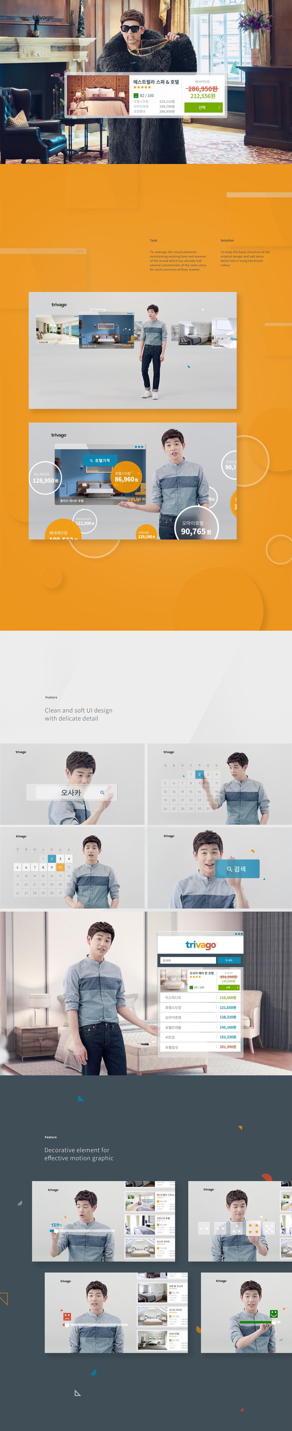 Style frame / UI design