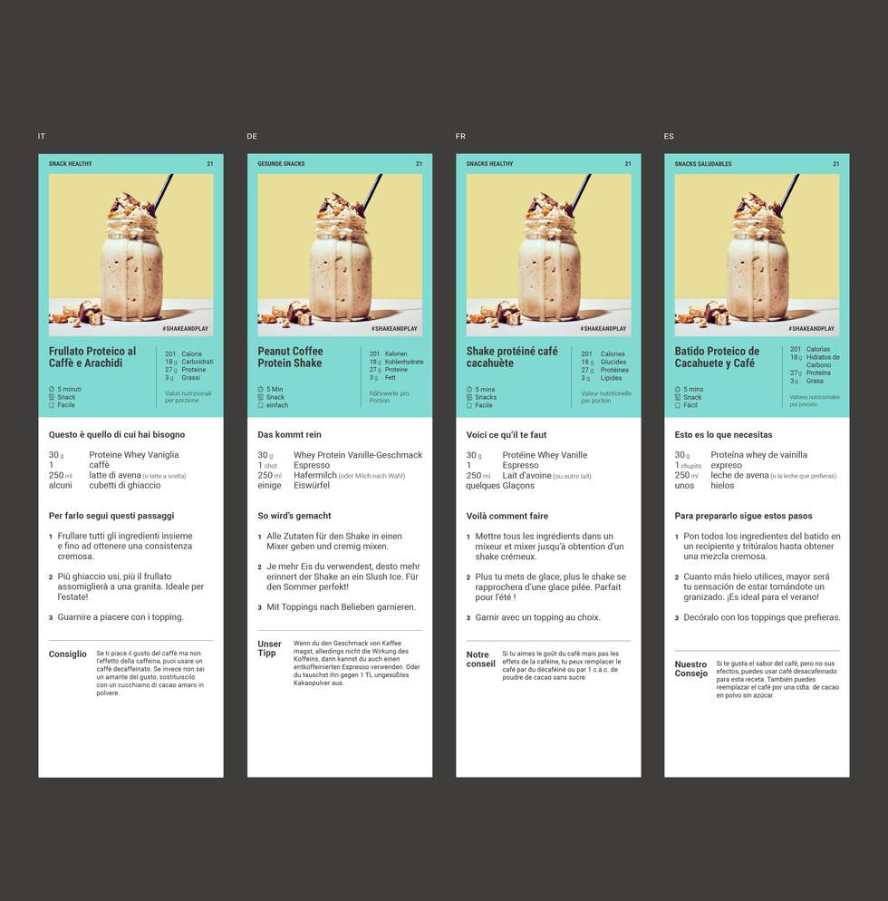 Recipe page