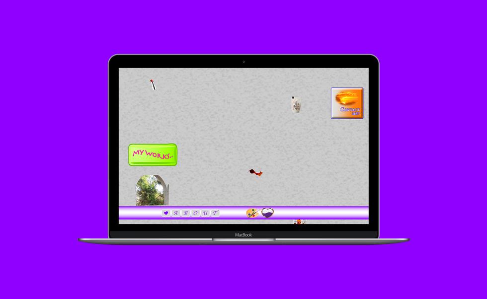 Landing page desktop