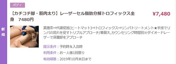 【カチコチ脚・筋肉太り】レーザーセル脂肪分解トロフィックス全身 7480円.pn