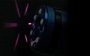 ダイオードレーザー照射の図