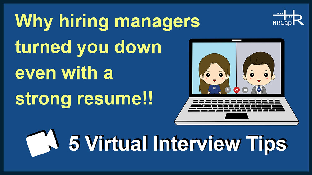 his short video highlights critical, overlooked mistakes regarding virtual interviews.