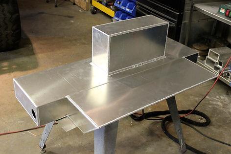 custom aluminum fuel tank