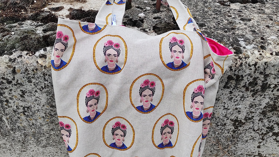 Tote bag Frida ( grand modèle)