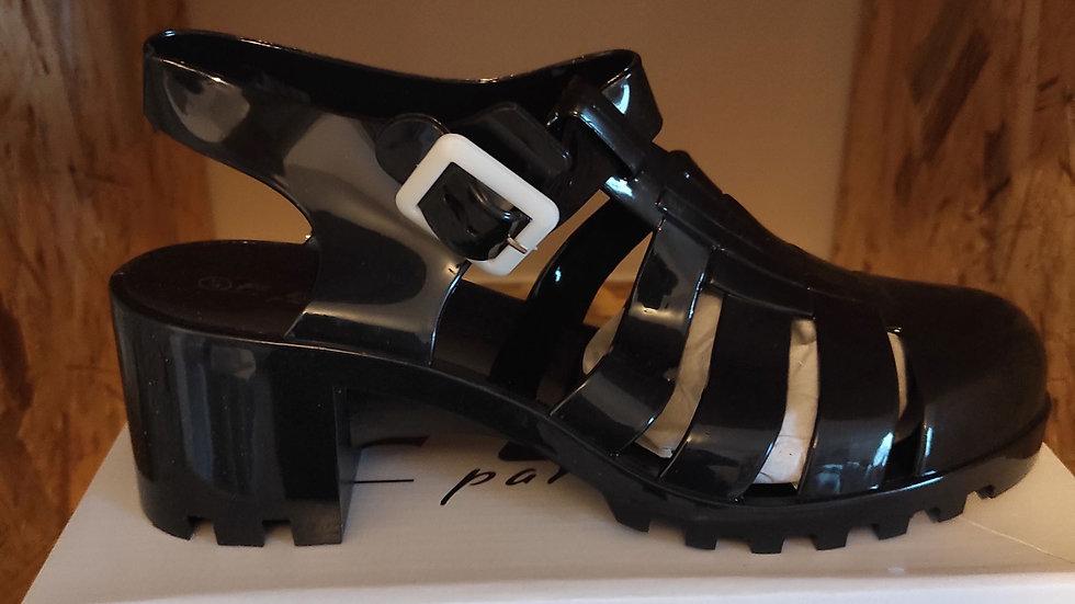 Chaussure de plage noir