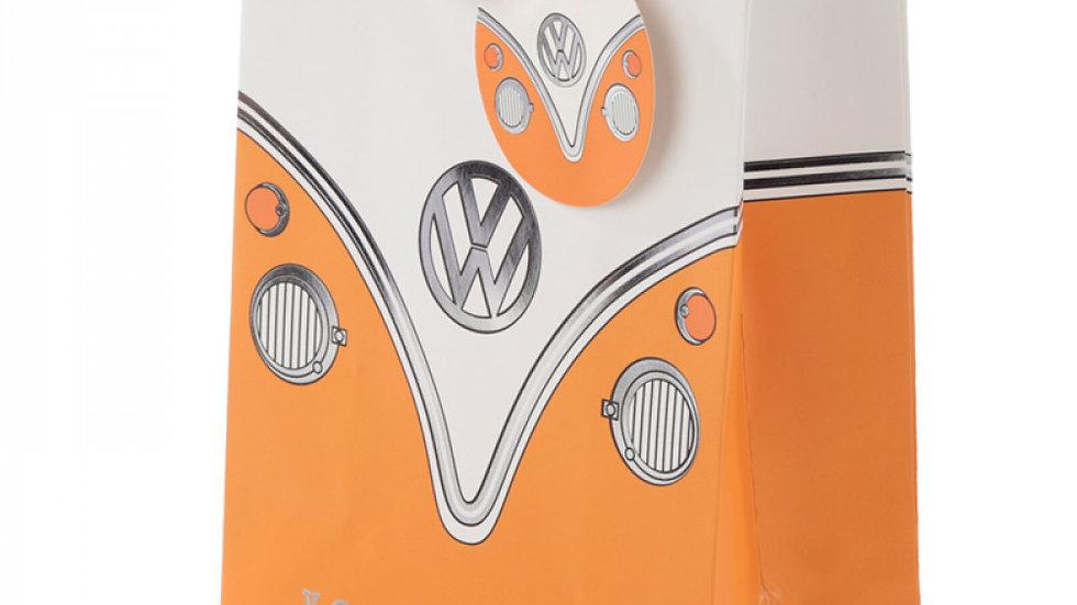 Sac Cadeau Volkswagen - Van Bus Combi VW T1 (Moyen) orange