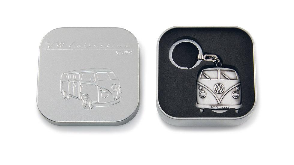 VW T1 Combi Porte-clés, jet pour les chariots d'achat, dans boîte cadeau - antiq