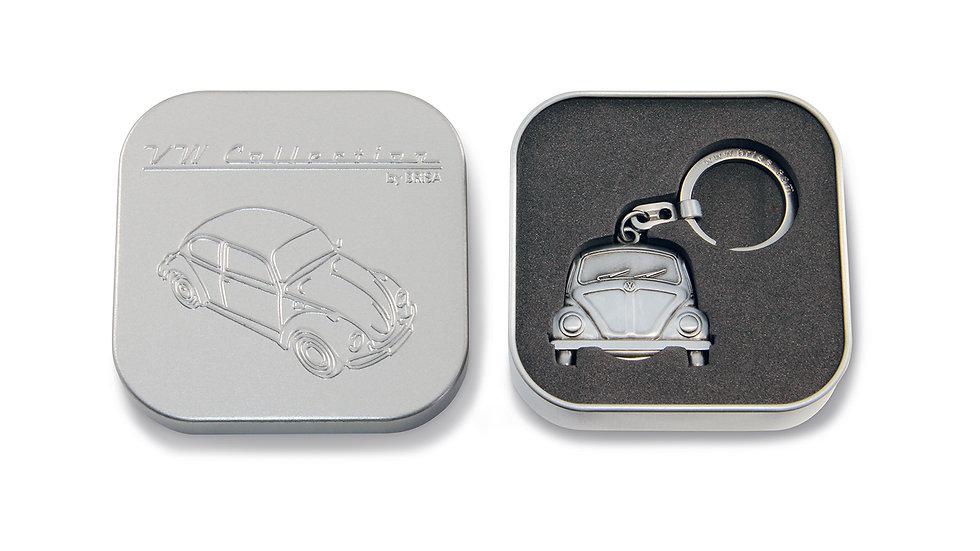 VW Coccinelle Porte-clés, jet pour les chariots d'achat, dans boîte cadeau