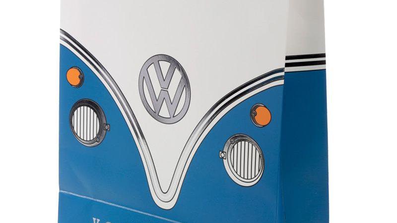 Sac Cadeau Volkswagen - Van Bus Combi VW T1 (Très Grand) bleu