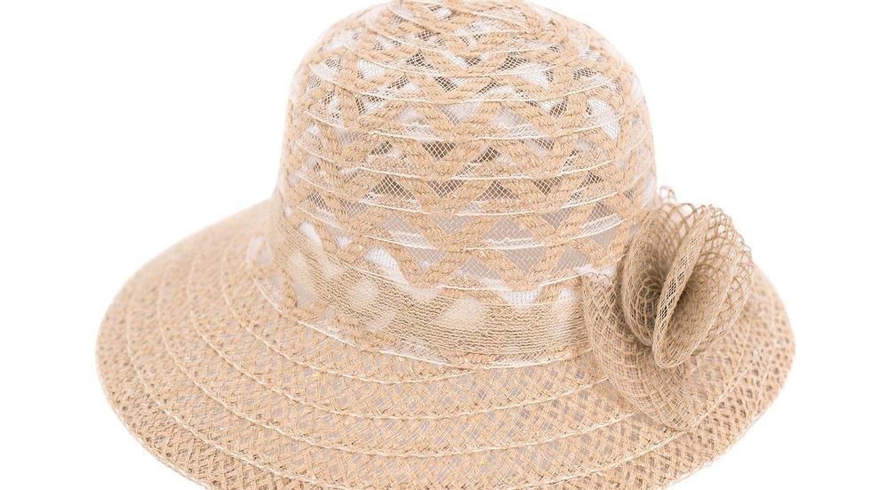 Chapeau d'été ajouré.