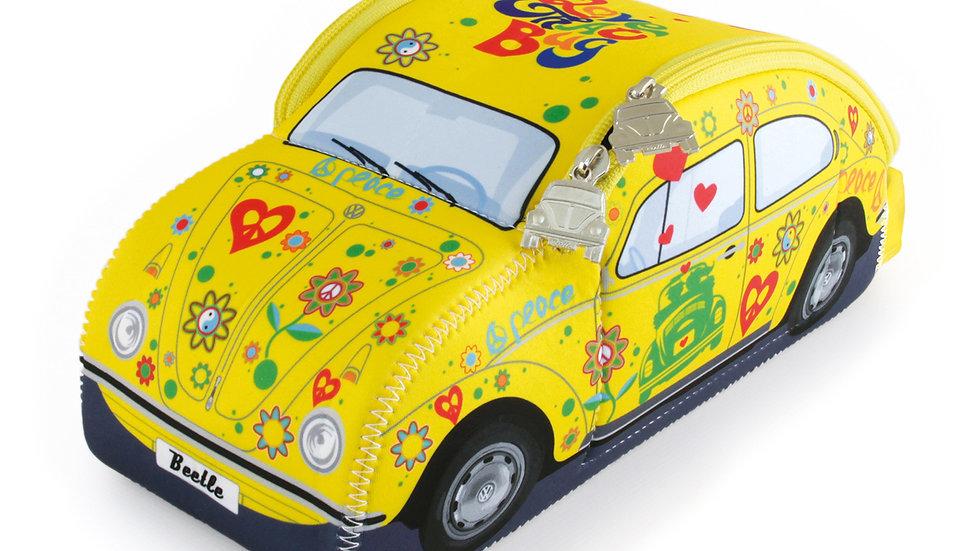 SAC UNIVERSEL EN NÉOPRÈNE 3D VW BEETLE - FLOWER POWER