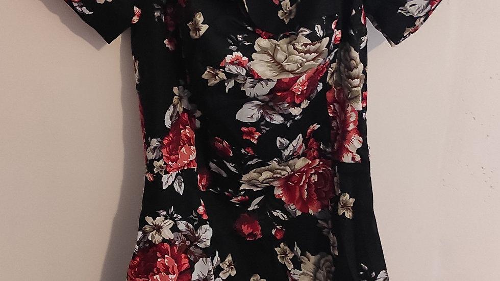 Robe vintage à fleur