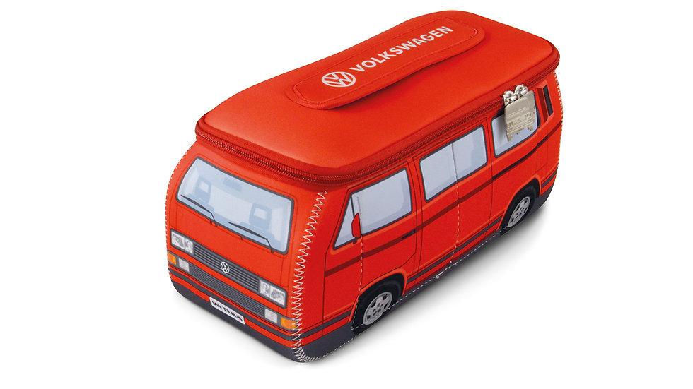 SAC UNIVERSEL NÉOPRÈNE 3D VW T3 BUS - ROUGE.