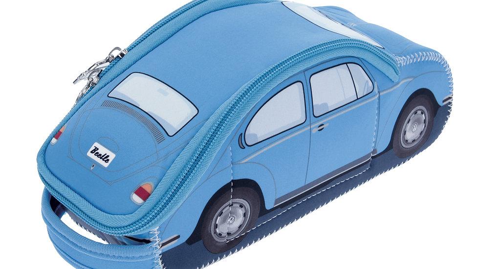 ÉTUI EN NÉOPRÈNE 3D VW BEETLE - BLEU CLAIR