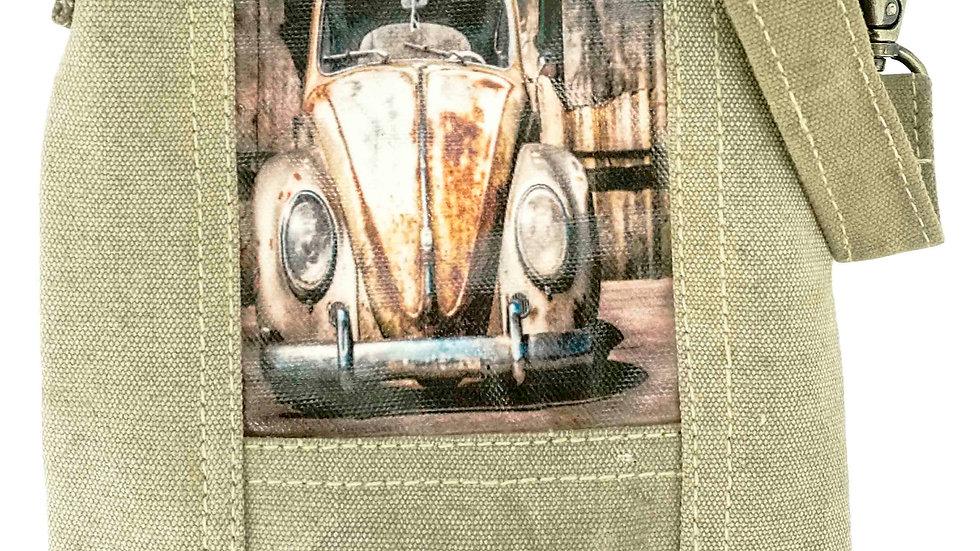 Vintage VW Coccinelle Sac à bandoulière recyclé