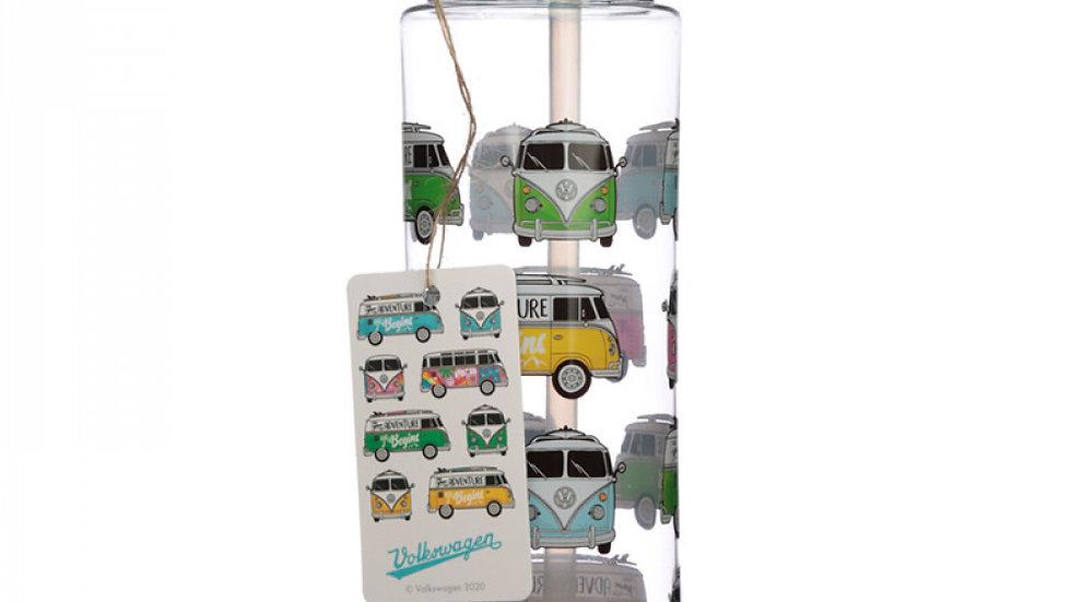 Bouteille d'Eau en Plastique Renforcé (Gourde) 550ml Volkswagen - Van Bus Combi