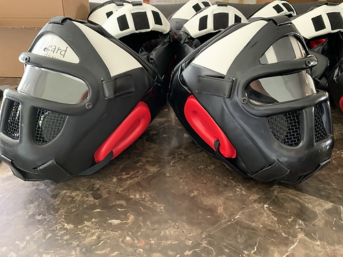 WHITE Face RBC Force on Force Helmet w/ear guards