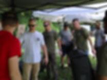 Close combat pistol course