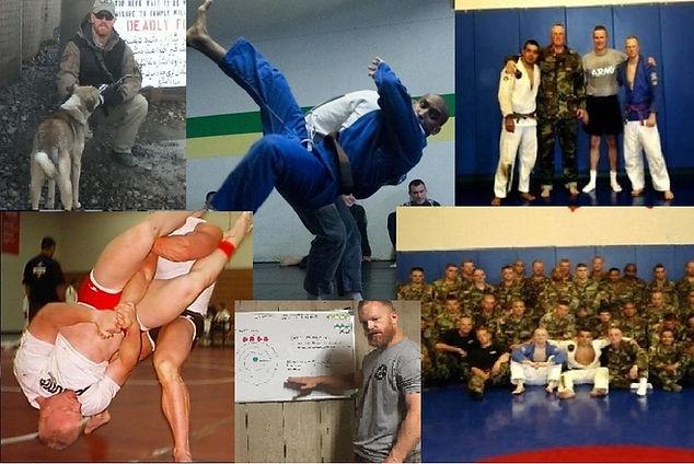 BJJ training, MACP training, Afghanistan