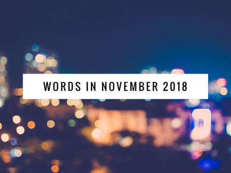 Words for Christchurch, November 2018