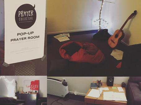 Pop-Up Prayer Room