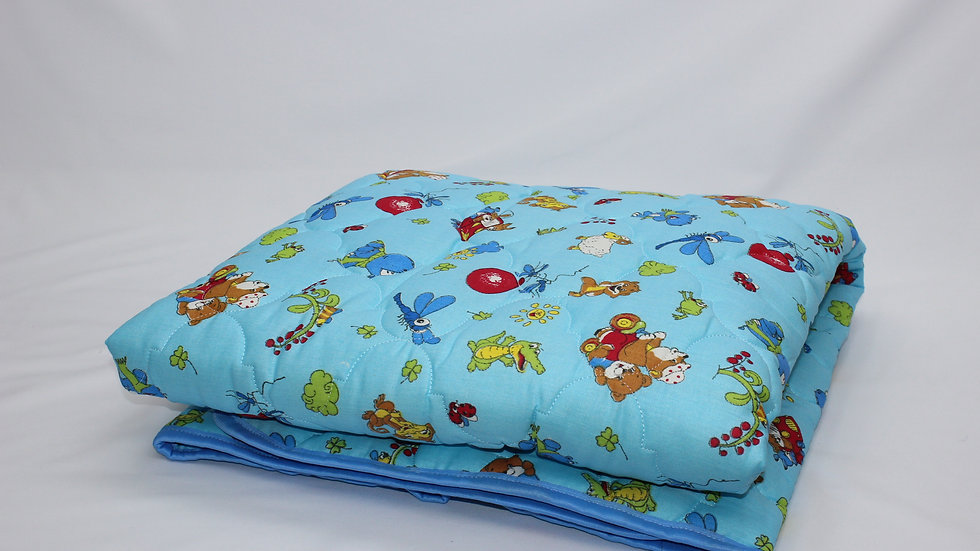 Детское одеяло бязь шерстипон