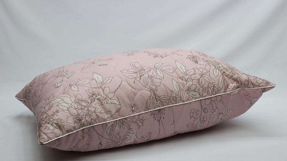 Стеганая подушка бязь (экофайбер-синтешар)
