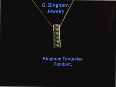 Kingman Bar Pendant