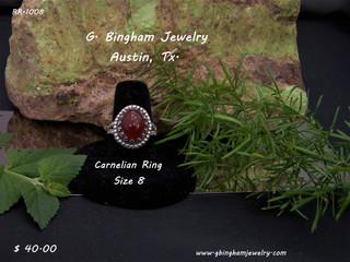 Carnelian Ring RR-1008