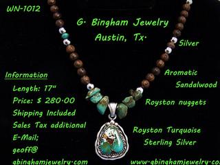Royston necklace MW-1012