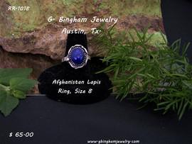 Afghanistan Lapis Ring RR-1018