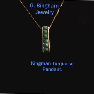 Kingman Bar Pendant