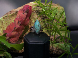 Turquoise Marquis Ring RR-1022