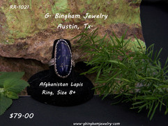Afghanistan Lapis Lazuli Ring RR-1021