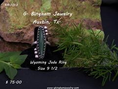 Wyoming Jade Ring RR-1013