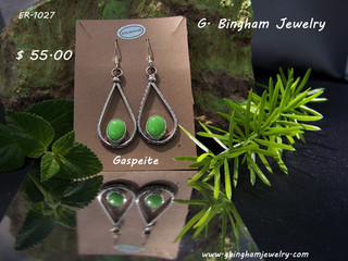 More available ER-1027 Gaspeite Drop,