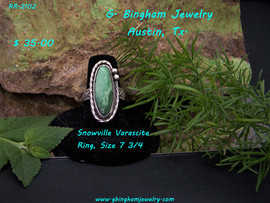 Snowville Varascite RingRR-2102