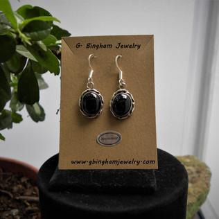 Black Onyx earrings 001
