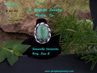 Snowville Varascite  Ring RR-2101V