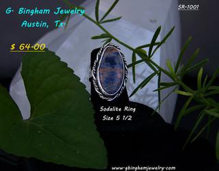 Sodalite ring SR 1001