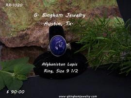 Afghanistan Lapis Lazuli RR 1020