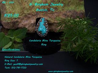 Candalaria Mine, Turquoise Ring