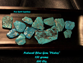 Blue Gem Mine Natural Turquoise.