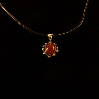 Carnelian Star Pendant ***SOLD***