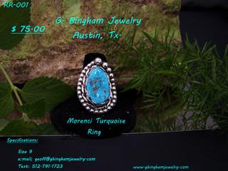 Morenci Mine, Turquoise Ring