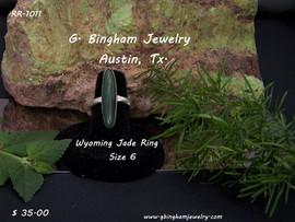 Wyoming Jade Ring RR 1011