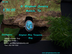 Kingman Mine, Turquoise Ring