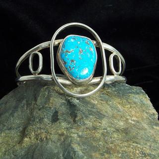 Kingman Turquoise Bracelet ***SOLD***