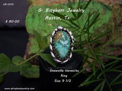 Snowville Varascite Ring VR 1070